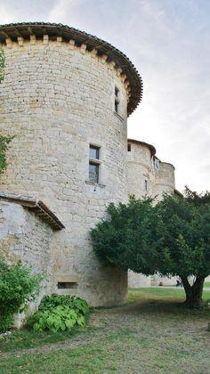 Château de Mauriac à Senouillac, Tarn, France