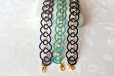 Pulsera de encaje pulsera cordón ropas hecha en por Ilfilochiaro