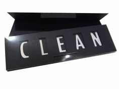 Clean Dirty Magnet Sign for the Kitchen or Laundry, Black by DishwasherSign, http://www.amazon.com/dp/B004WLH0DI/ref=cm_sw_r_pi_dp_M4Fgqb0N74K00