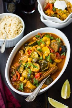 The Bojon Gourmet: Roasted Eggplant, Chickpea and Summer Vegetable Tagine #vegetarian #recipe