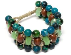 Catalina Hemp Bracelet | #DIY Jewelry |  Free Jewelry Patterns | Prima Bead