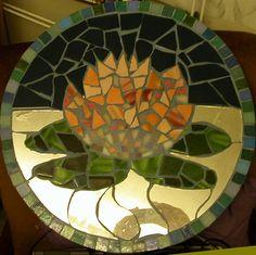 Cardiff Lotus mosaic, originally uploaded by FWBO photos. Located at the Cardiff Buddhist Centre, Wales. Mosaic Diy, Mosaic Glass, Mosaic Tiles, Stained Glass, Garden Junk, Garden Art, Garden Ideas, Mosaic Birdbath, Mosaic Stepping Stones