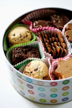Great idea to make a tin of homemade biscuits, so much nicer than shop bought.