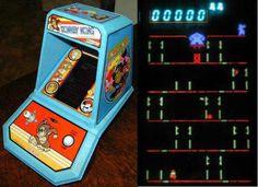 I spent many hours playing Donkey Kong!