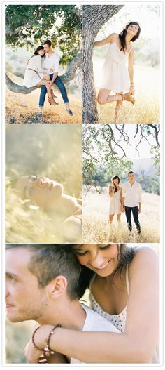 Engagement photos, it's a great idea to get individual pictures in addition to all the adorable couple pics you will be getting.
