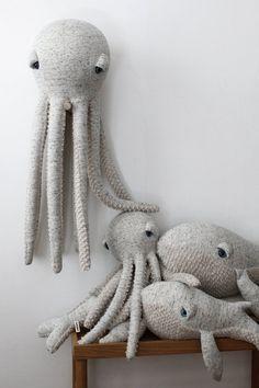 Octopus Stuffed Animal, Octopus Plush, Stuffed Animal Diy, Octopus Octopus, Stuffed Toy, Sticker Printable, Free Printable, Handmade Shop, Handmade Gifts