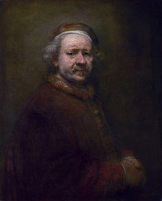 """Rembrandt Harmenszoon van Rijn"". Auto-Retrato. (1669)."