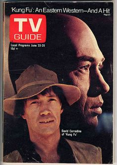TV GUIDE Kung Fu, (1972–1975)