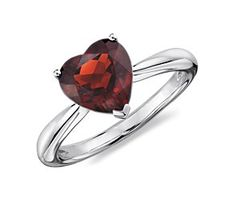 Heart Garnet Ring in Sterling Silver (8mm) by blue nile. this would follow a pretty big accomplishment.