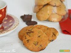 Biscotti con gocce di cioccolato  #ricette #food #recipes