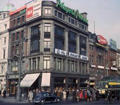Corner of Eden Quay and O'Connell street, 1964