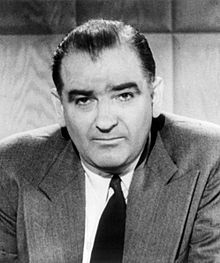 McCarthyism is the practice of making accusations of disloyalty, subversion, or treason without proper regard for evidence. The term has its origins in the period in the United States known as the Second Red Scare, lasting roughly from 1950 to 1954 and characterized by heightened fears of communist influence on American institutions and espionage by Soviet agents.