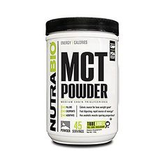 NutraBio MCT Powder 1 lbs.