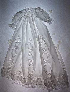 THE MOST Gorgeous heirloom sewing!  By Kathy Dykstra.  Wow!  To be able to do this!  In my dreams......