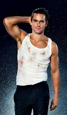 Matt Bomer as Christian Grey!! OMG!