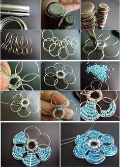 how to make wire flower