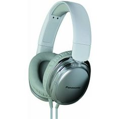 Panasonic Street Band HX450 Monitor Headphones with In-Line Remote for Apple - White Multi color