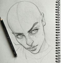 Clementine Wills ( Art Drawings Sketches Simple, Portrait Sketches, Pencil Art Drawings, Portrait Art, Arte Sketchbook, Art Calendar, Aesthetic Art, Cartoon Art, Art Tutorials