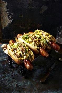 Laugen Hot Dog Rolls