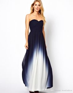 Buy Coast Sheena Maxi Dress in Dip Dye at ASOS. With free delivery and return options (Ts&Cs apply), online shopping has never been so easy. Get the latest trends with ASOS now. Maxi Bridesmaid Dresses, Prom Dresses Blue, Prom Party Dresses, Strapless Dress Formal, Maxi Dresses, Grad Dresses, Dress Party, Dress Long, Wedding Dresses
