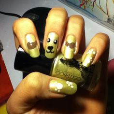 Dog Nails hond nagels catrice goud bruin wit