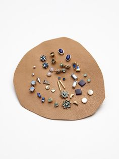 Mega Stud Set | Stones, gems, and charms! These sweet studs come in quite a… …