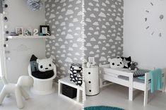Inspiracje wnętrzarskie - pomysły na ściany w pokoju dziecka - Blog wnętrzarski - inspiracje, design, projekty wnętrz ProjektBlou
