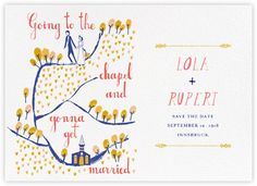 Miss Porter (Horizontal Save the Date) - Paperless Post