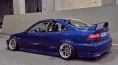1999 Honda Civic, Honda Civic Coupe, Civic Jdm, Cars Land, Honda Cars, Import Cars, Japan Cars, Modified Cars, Anime Kawaii