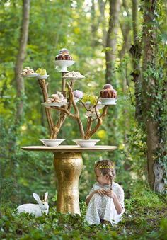 Tea Party with White Rabbit