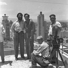 """Pedro Infante filmando """"Ustedes los ricos"""" (1948)"""
