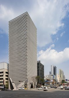 Colmeia Urbana / ARCHIUM (Gangnam-daero, Gangnam-gu, Seul, Coreia do Sul) #architecture