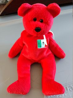 ad02f134aa4 Osito the Bear - Ty Beanie Babies - 1999 by LabArcDesigns on Etsy