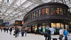 Glasgow Central Station, 2011
