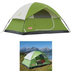 Tent-Person-4-Camping-Outdoor-Coleman-Hiking-Instant-Footprint-Family-Rainfly