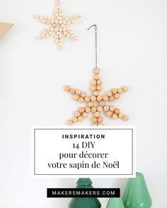 Inspiration • 14 DIY pour décorer votre sapin de Noël