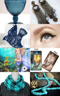 TEMPTing Blue by Cassie on Etsy--Pinned with TreasuryPin.com