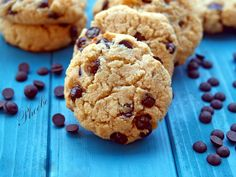 #μπισκότα #σοκολάτα #cookies #chocolate #nostimiesgiaolous Greek Recipes, Cookie Bars, Chocolate Chip Cookies, Cookie Recipes, Biscuits, Recipies, Chips, Cooking, Sweet