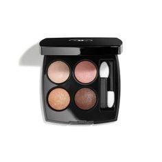 Chanel Les 4 Ombres Multi-Effect Quadra Eyeshadow - Blurry Grey Chanel Eyeshadow, Chanel Makeup, Eyeshadow Palette, Eyeshadows, Chanel Beauty, Neutral Eyeshadow, Beauty Buy, Green Eyeshadow, Makeup Products