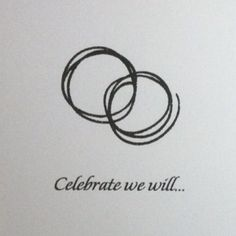 the front of our invitations. (reminds me of the dMb coffee rings)