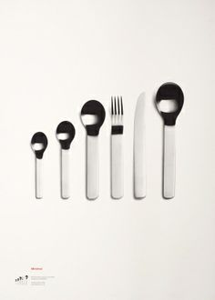 DAVID MELLOR ANNIVERSARY - MINIMAL CUTLERY (2003) LIMITED EDITION HAND-PULLED SCREEN PRINT A print to celebrate one of David Mellor's most innovative cutlery designs. A great gift for the design enthusiast. Hand screen printed onto beautifully textured paper made in England. Limited to a single edition of x1000 Available unframed or framed in an aluminum matt black finish. Size: 50cm x 70cm Unframed: £55 Framed: 109 #davidmellor
