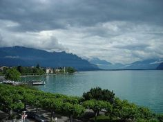Vevey, Switzerland is filled with charm - the town, vistas over Lake Geneva and local French culture/language/food make the visit a delight. Switzerland Tourism, Vevey, Lake Geneva, Footprints, Old Town, Beautiful World, Trip Advisor, Vacation, Explore