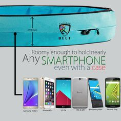 Get your smartphones easily while running, jogging or walking! Awesome Gadgets, Running Belt, Note 5, Blackberry, Mobile Phones, Jogging, Smartphone, Walking, Samsung