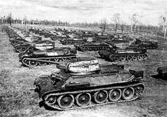 Medium tanks T-34 Models 1941 and 1943 / czołgi średnie T-34 Modele 1941 oraz 1943