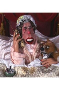 Spitting Image Puppets