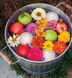Water-Floral Arrangement | Click Pic for 22 DIY Summer Wedding Ideas on a Budget | DIY Garden Wedding Ideas on a Budget