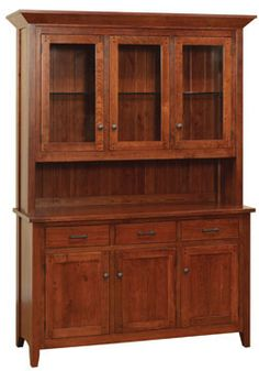 mission style hutch