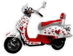 Chinese Valentine Scooter ;-)