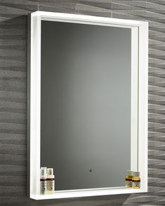 - Great sale on this modern Roper Rhodes Aura Illuminated Framed Mirror 500 x Chrome. Manufacturing Code of this illuminated mirror is Roper Rhodes, Lighted Bathroom Mirror, Shower Taps, Bathroo, Frame, Bathroom Design, Chrome, Mirror, Illuminated Mirrors