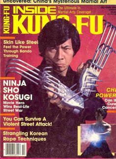 Ninja weapons - wow they look real nasty!